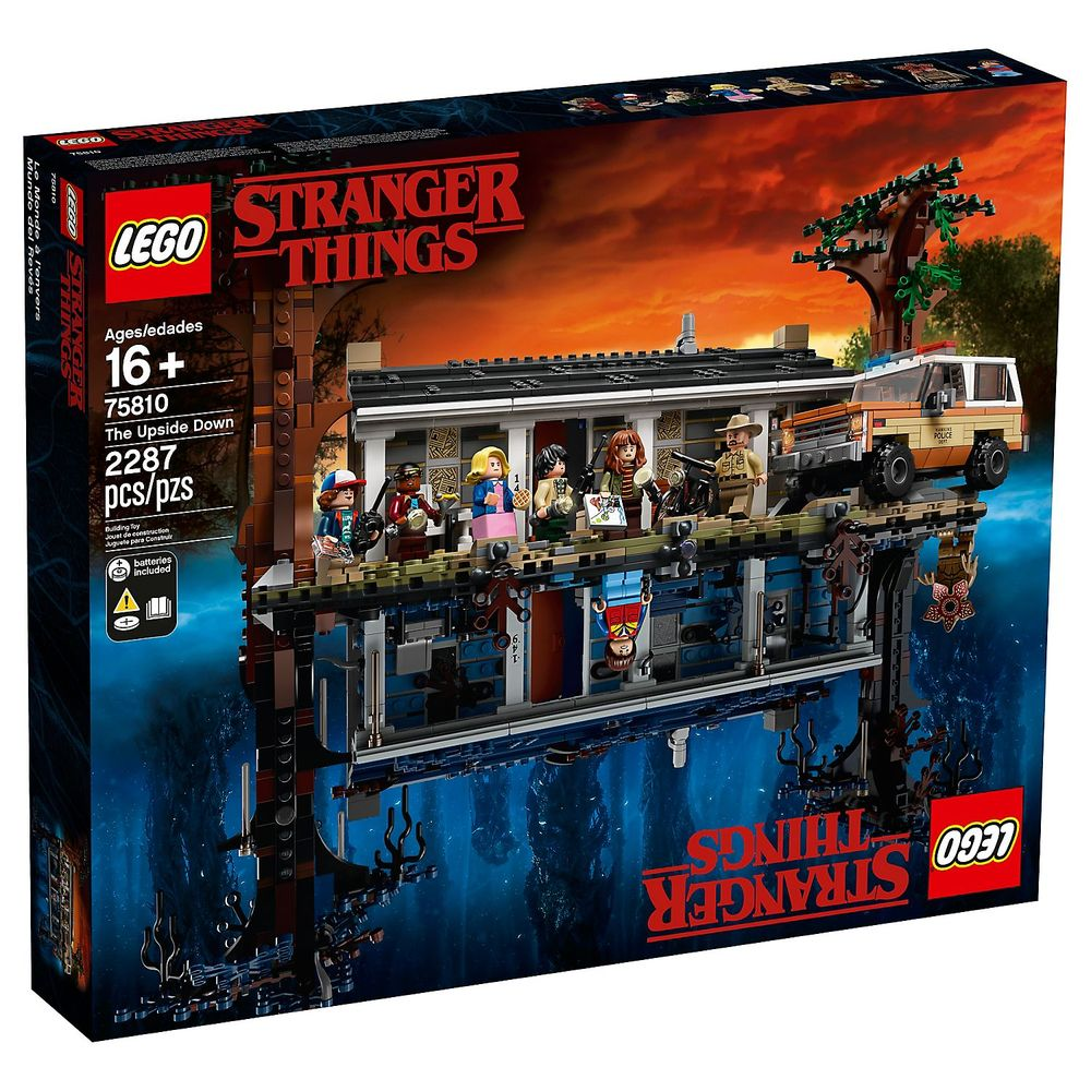 Lego Netflix Stranger Things Set Now Available for Lego VIP Members!