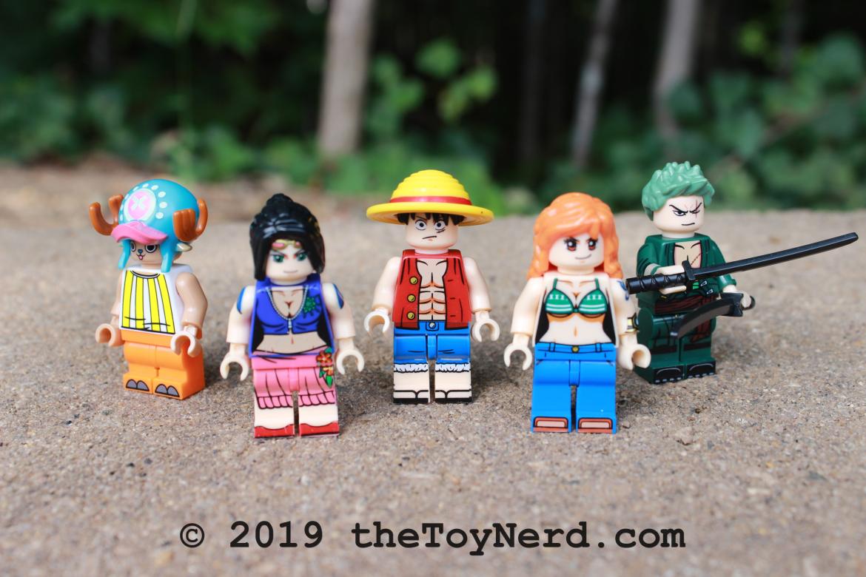 One Piece Custom Minifigures Review