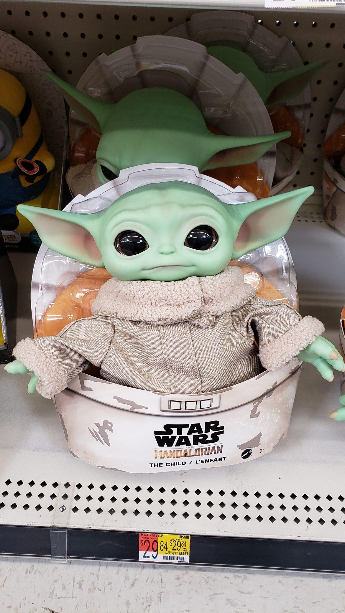 Star Wars Mandalorian the Child plush spotted at Walmart