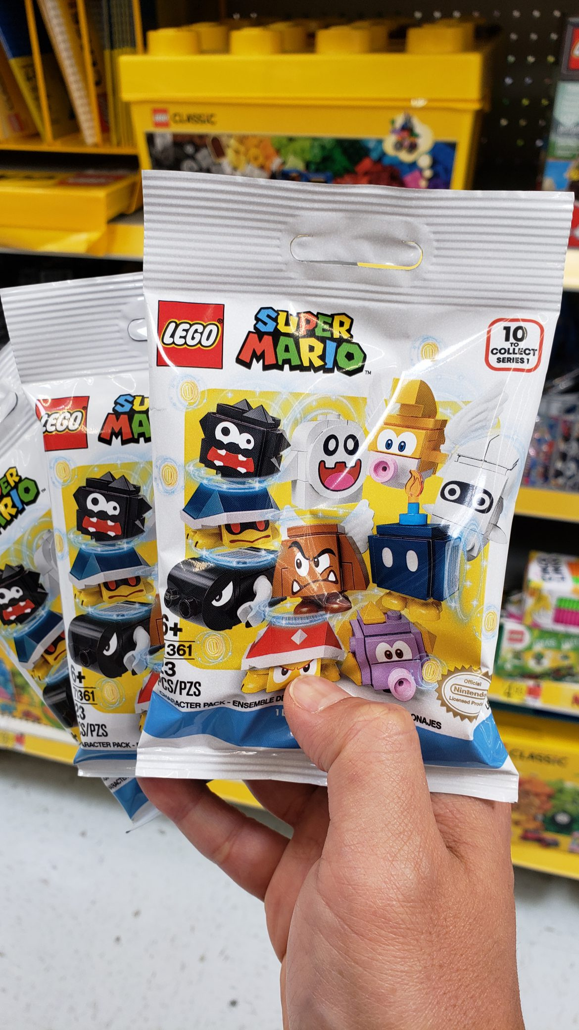 Lego Super Mario Sets Available at Target and Walmart