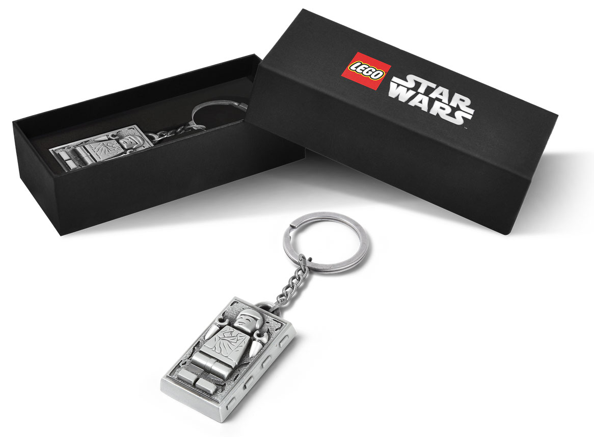 Lego 5006363 Han Solo Carbonite Metal Key Chain promotion Nov 1 – 8, 2020