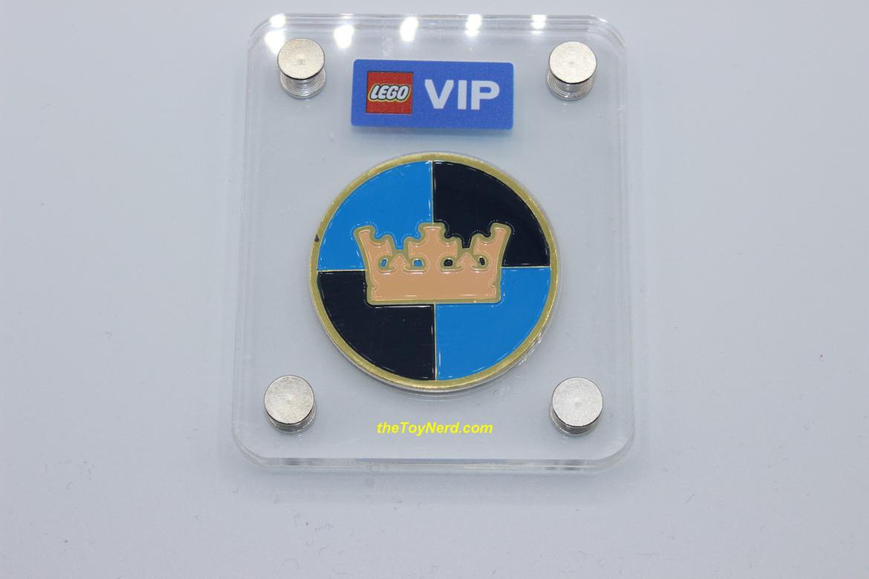 """Lego VIP """"Castle"""" Logo Collectable Coin Review"""