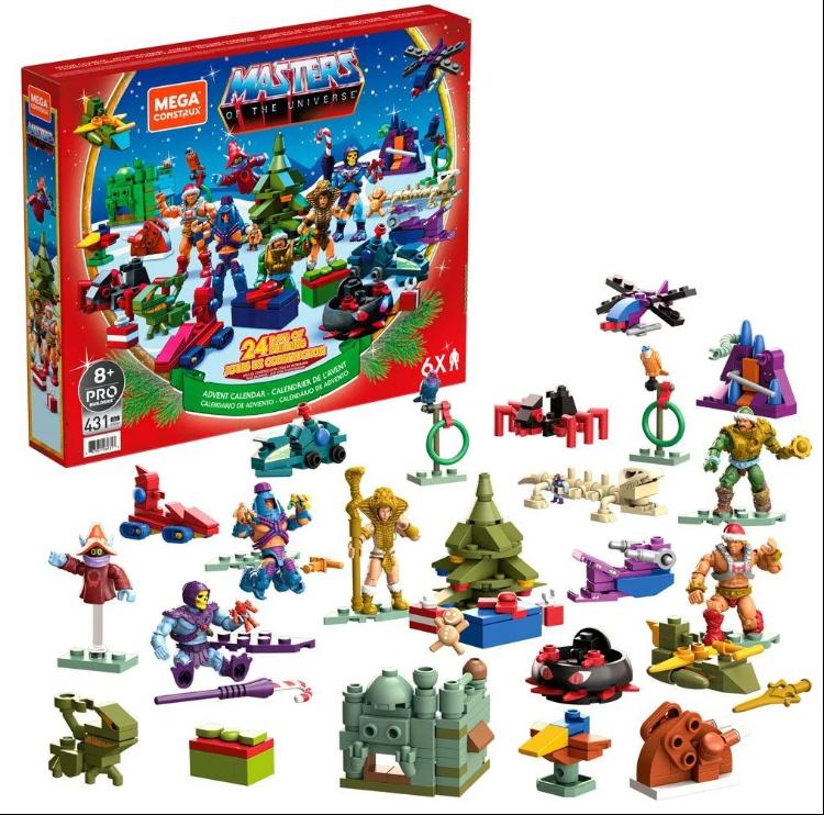 Mega Construx Masters of the Universe Advent Calendar Revealed!