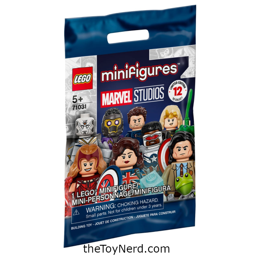 Lego 71031 Marvel Collectible Minifigures Officially Revealed
