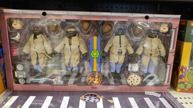 NECA Teenage Mutant Ninja Turtles – Turtles in Disguise Available Now