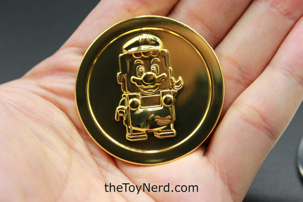 Lego Super Mario Limited Edition Coins – Gold and Silver Review!