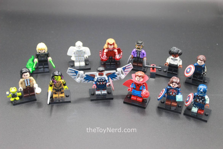 Lego 71031 Minifigures Marvel Studios Review